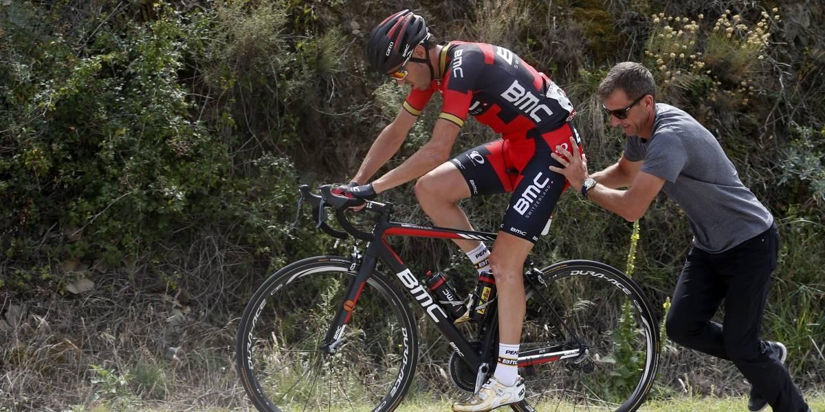 Samuel Sánchez atrapado por dopaje un día antes de la Vuelta