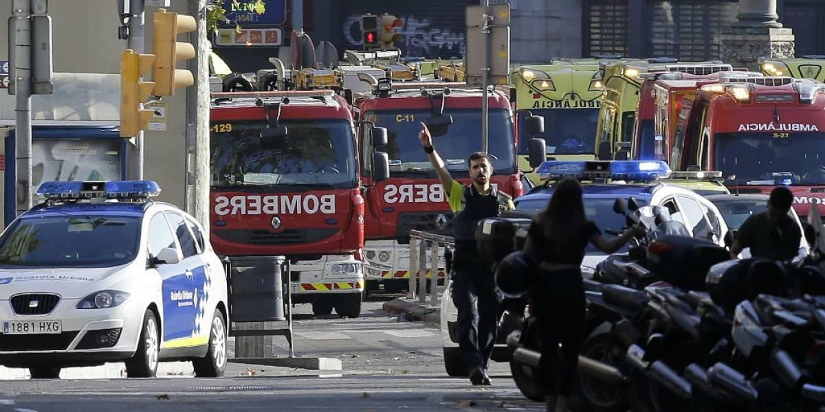 Líderes mundiales condenan atentado terrorista en Barcelona