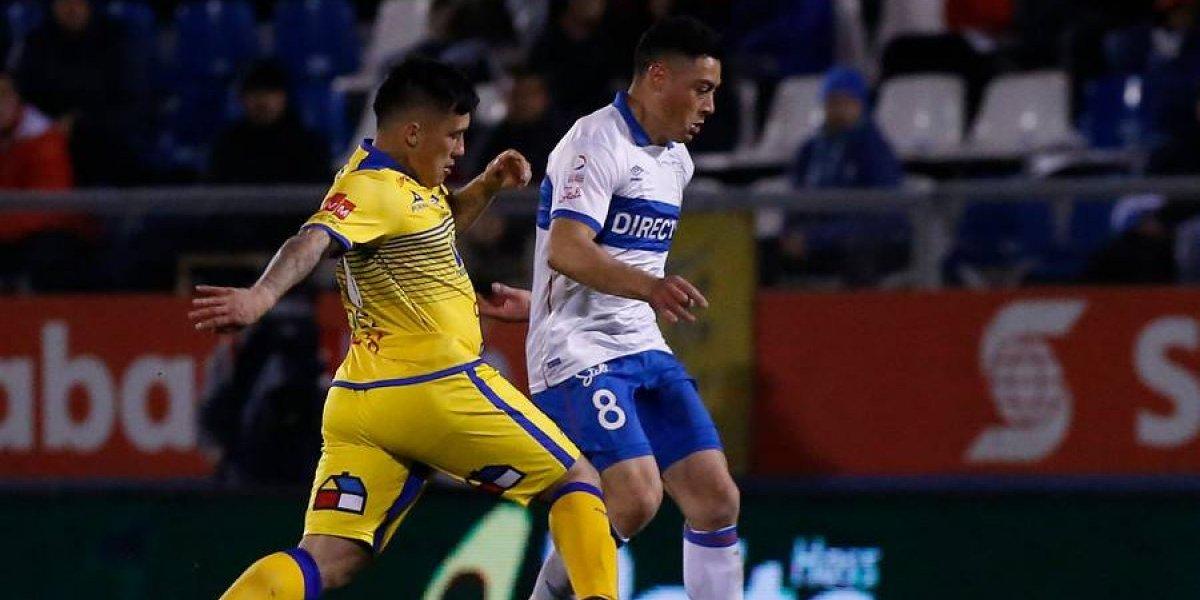 Diego Vallejos se alista para ir otra vez como único delantero de área en la UC