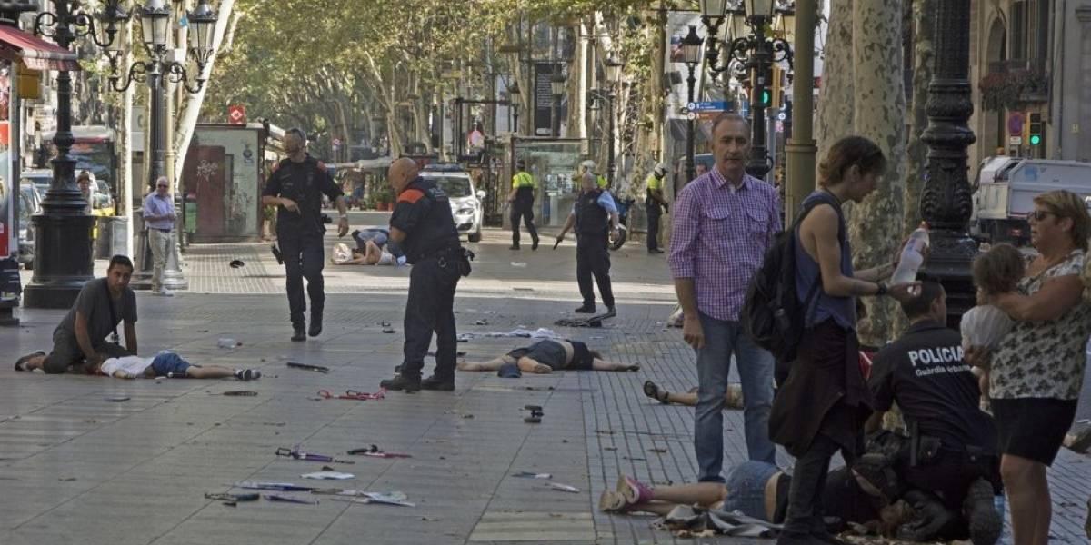 Los famosos expresan su dolor por el atentado terrorista en Barcelona