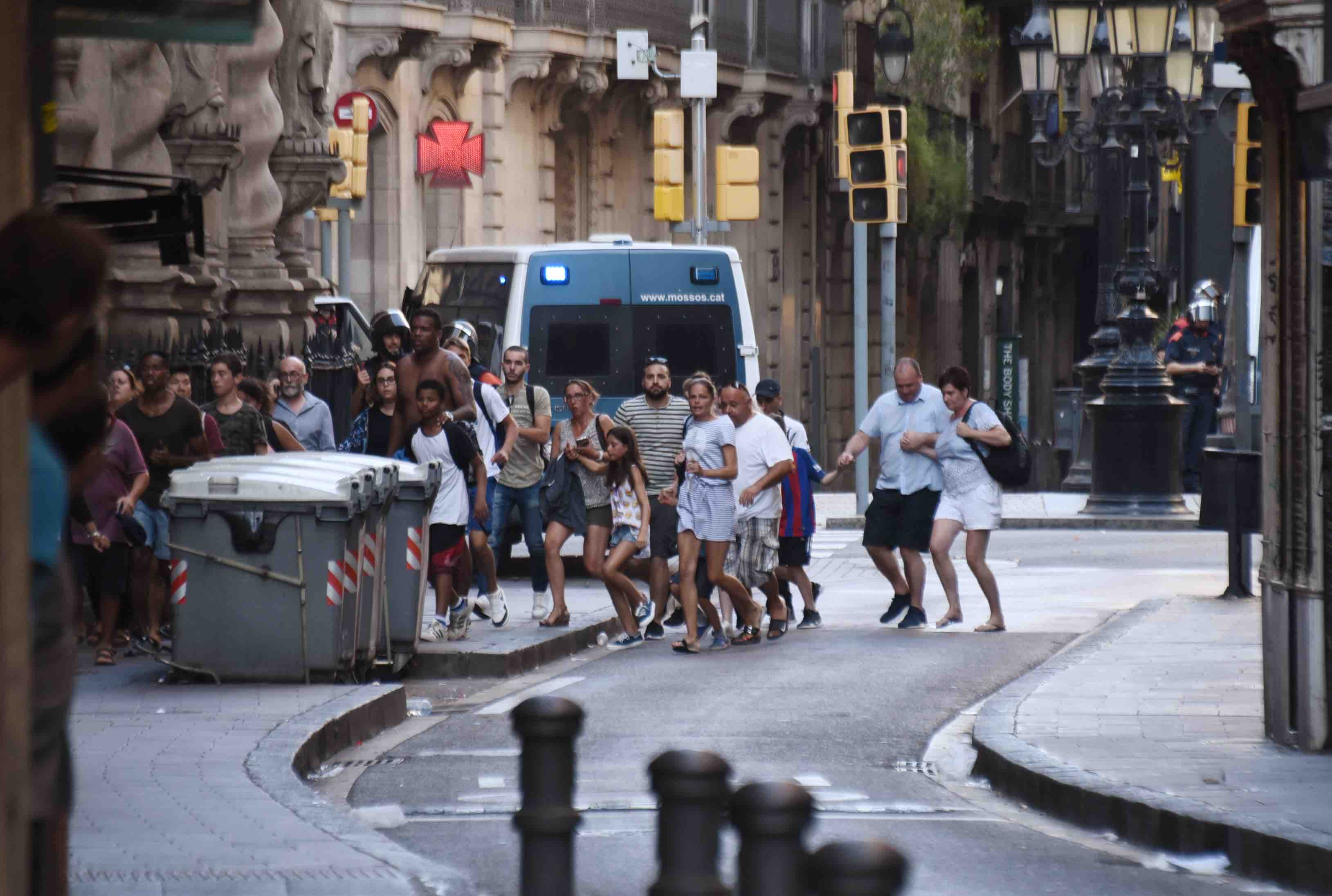 Ataque en Barcelona
