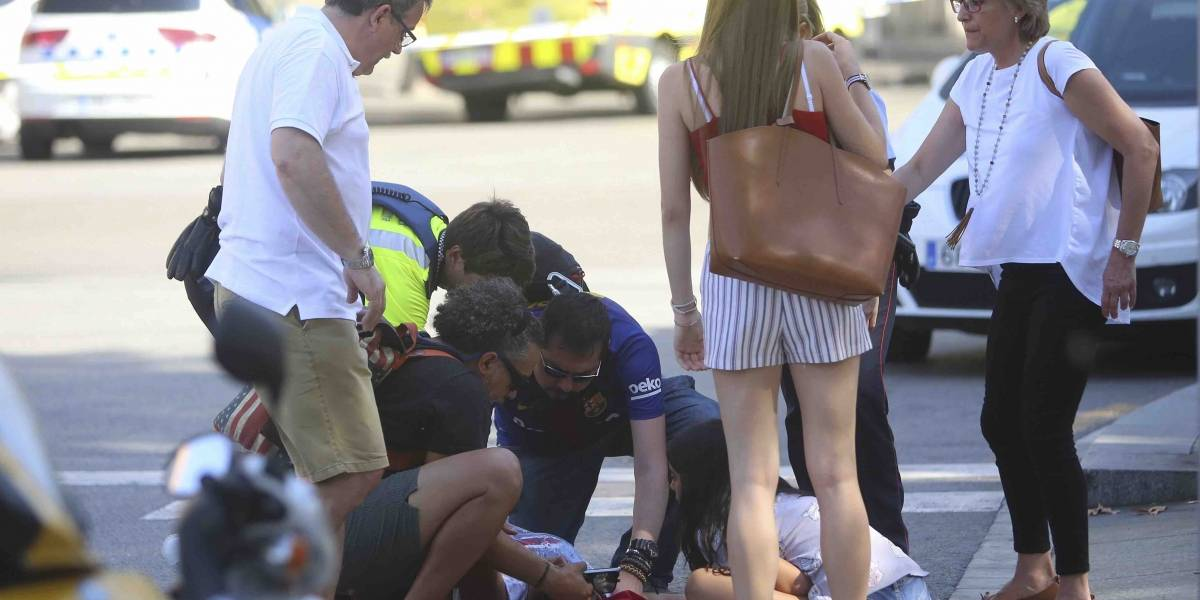 Un estadounidense entre las víctimas del atentado en Barcelona