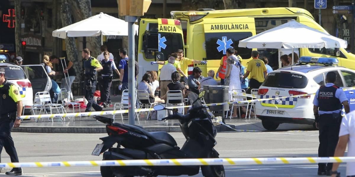 Atentado terrorista en la Rambla de Barcelona deja 13 muertos y más de 100 heridos