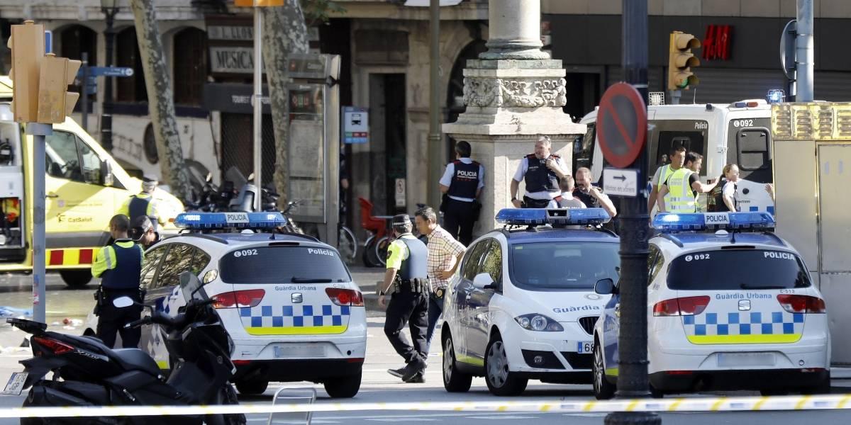 Al menos 13 muertos en atentado terrorista en Barcelona