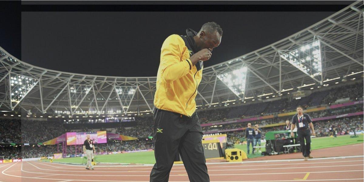 Bolt habla de su lesión en Twitter, pero borra tuits