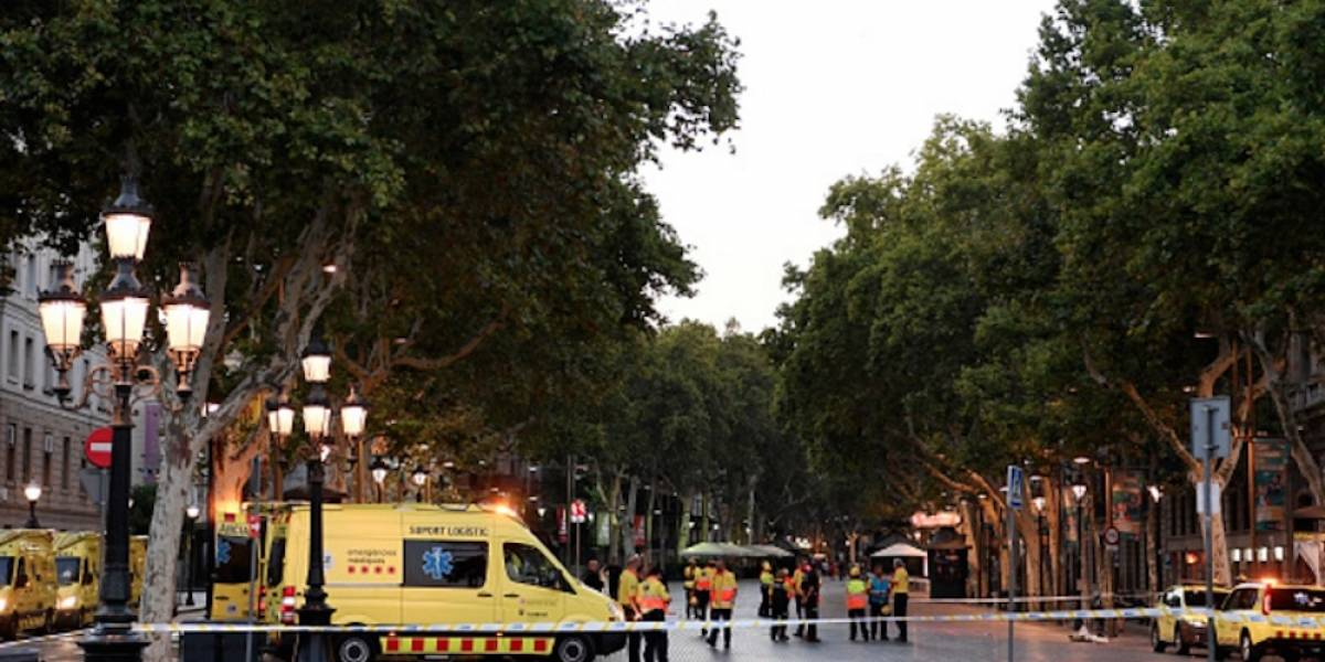 ¿Qué es La Rambla, lugar del atentado en Barcelona?