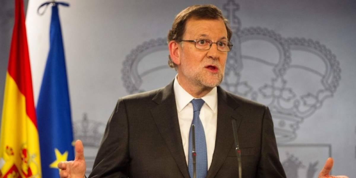 """Rajoy descarta negociar unidad España """"bajo chantaje"""""""