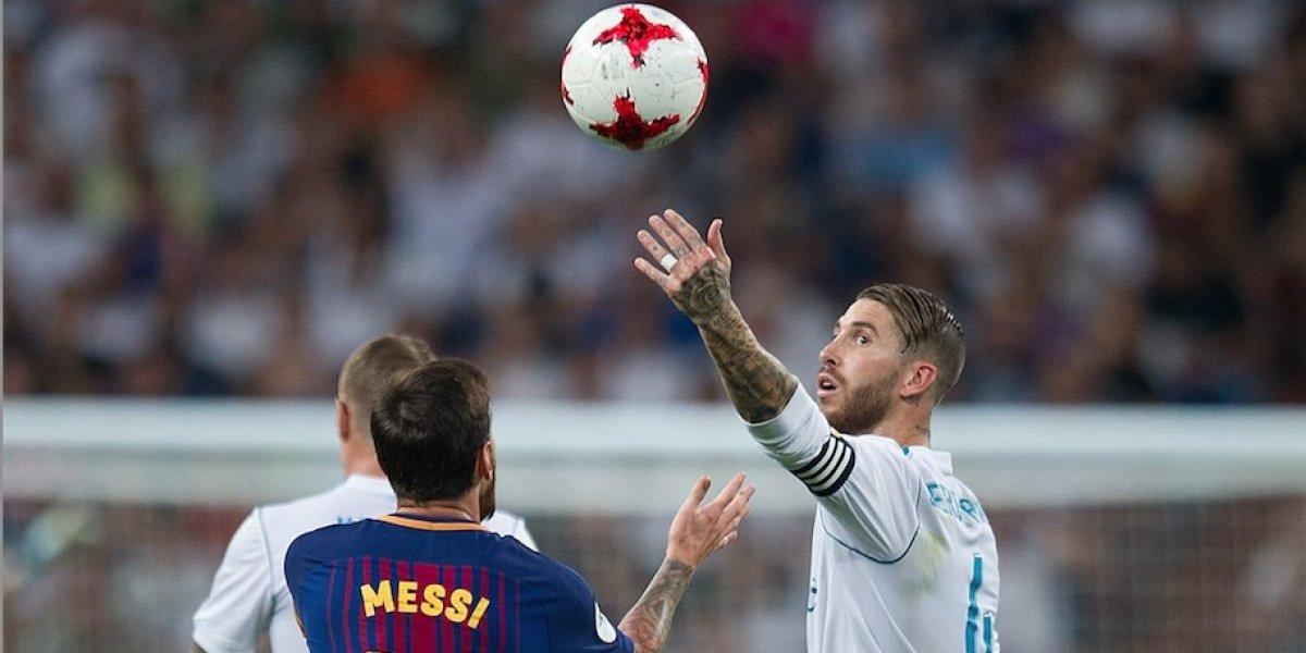 VIDEO: La razón por la que Ramos le tiró la pelota a Messi en la Supercopa