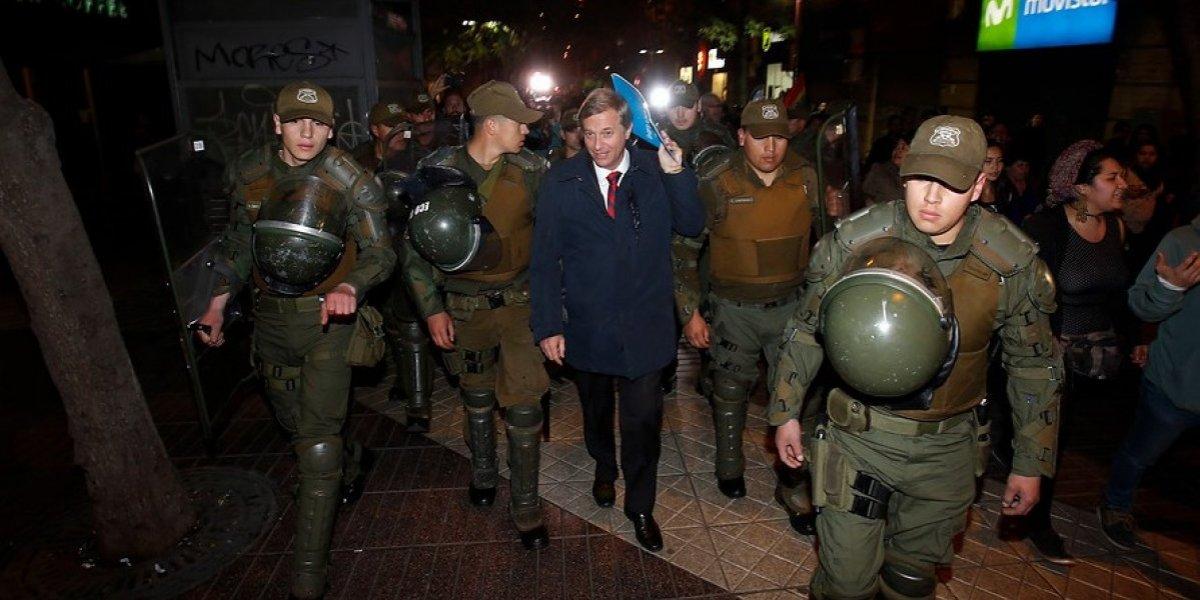 Ministro del Tribunal Constitucional fue agredido por manifestantes