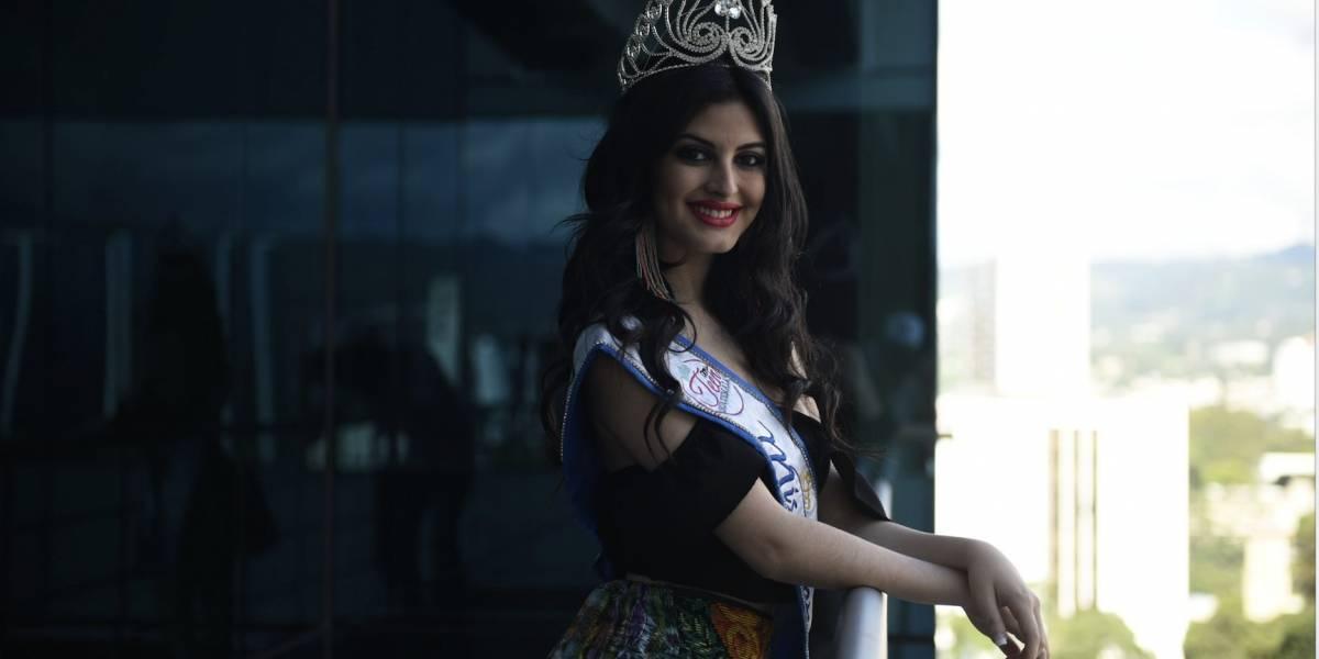 Nathalie Stuhlhofer, la guatemalteca que busca ganar una corona internacional.