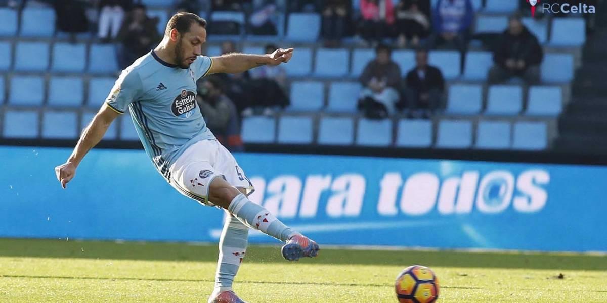 Marcelo Díaz deja el Celta y partiría al Tigres de Eduardo Vargas