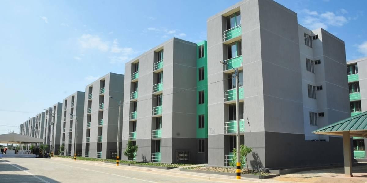 Los 'peros' de las viviendas financiadas por el gobierno en Ciudad Caribe en Barranquilla