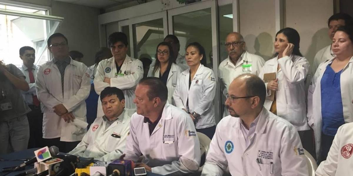 El 80% de reos que son llevados al Roosevelt tiene padecimientos menores, afirma director del hospital