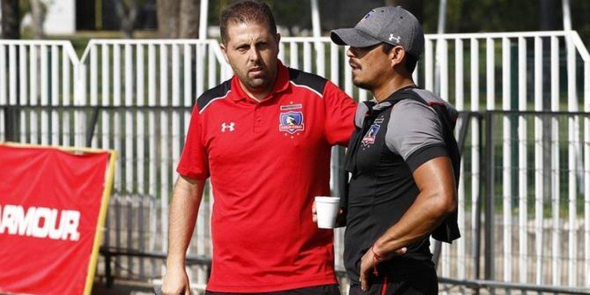Comenzó la poda en el fútbol formativo en Colo Colo: Pedemonte fue despedido y asume Crespo