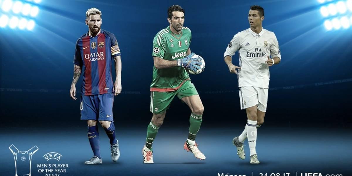 UEFA: Cristiano, Messi y Buffon van por el premio al Mejor jugador del Año