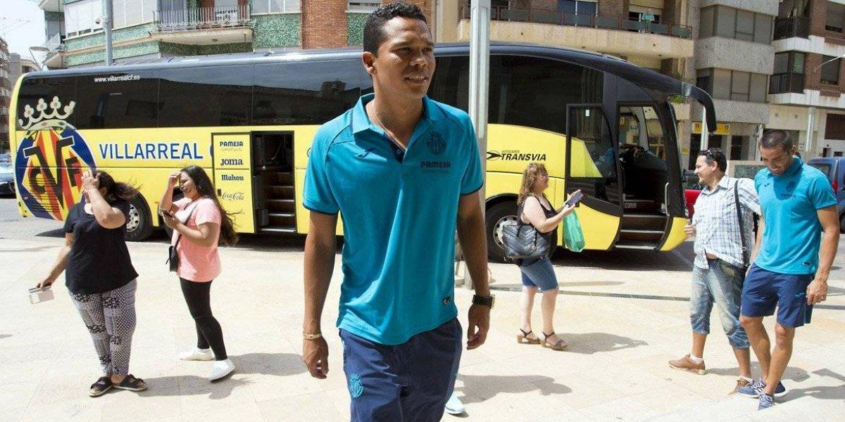 Villarreal suspende presentación de Bacca por atentando en Barcelona