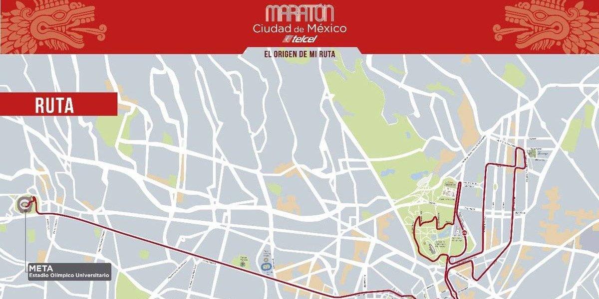Modifican ruta del Maratón de la CDMX 2017