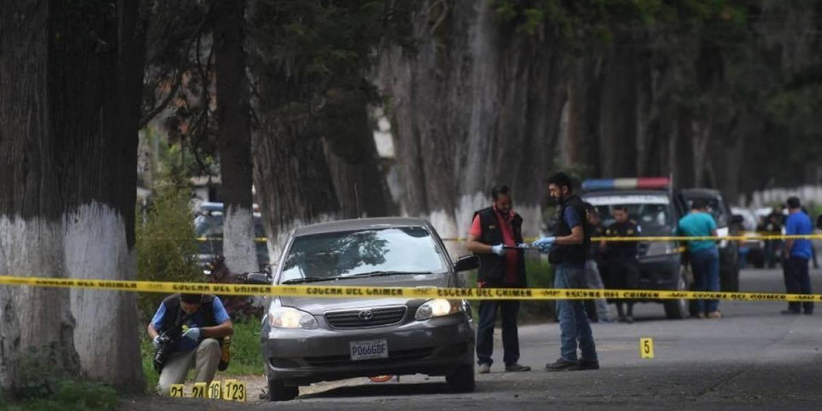 Se registra enfrentamiento entre presuntos pandilleros e investigadores de PNC en Chimaltenango