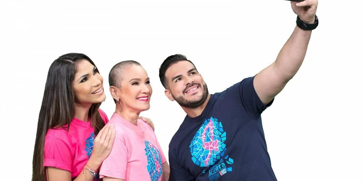 Yizette y Víctor contra el cáncer de seno
