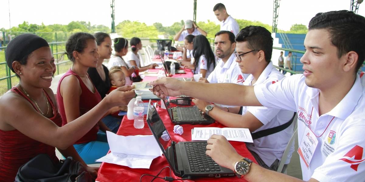 Continúa  jornadas de registro de colombianos retornados de Venezuela en el Atlántico