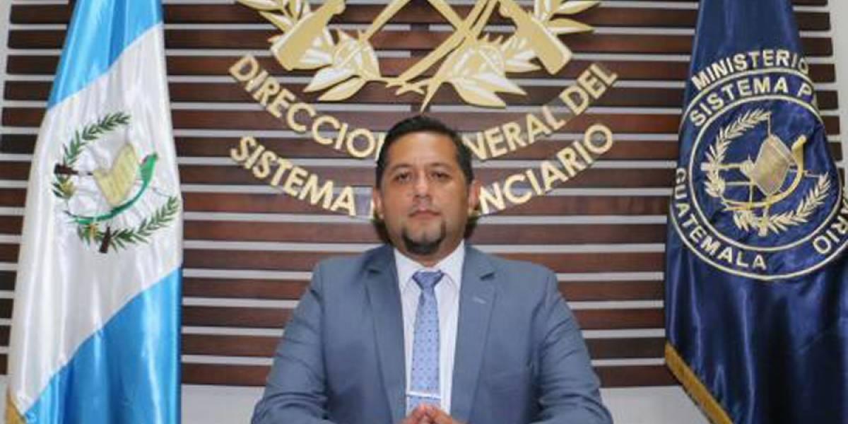 Juvell Stuardo De León De Paz nuevo director de Presidios
