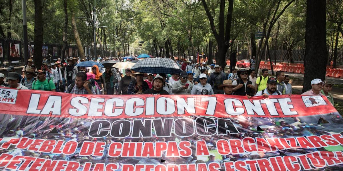 CNTE no regresará a clases este lunes en Oaxaca