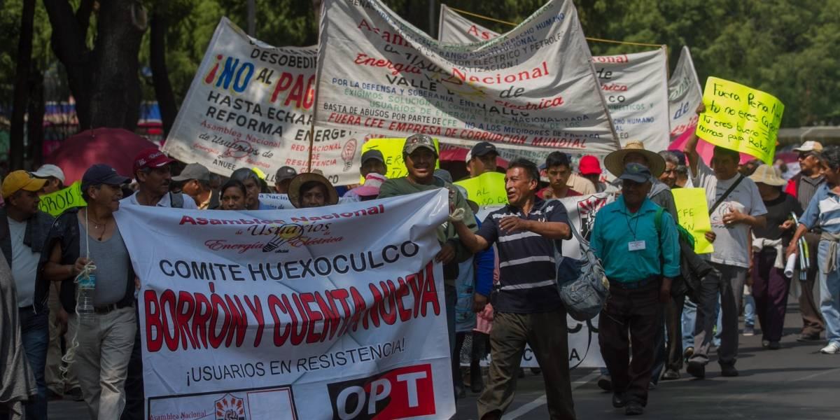 Marchas afectarán circulación vial en varias avenidas de la CDMX