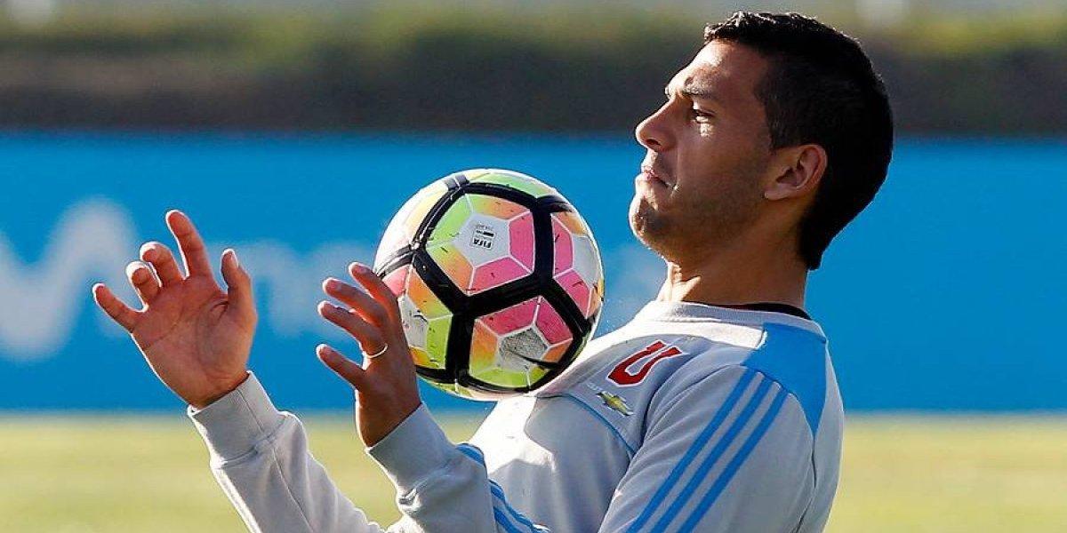 """Isaac Díaz elogia a Pinilla en la U: """"Es un jugador extraordinario"""""""