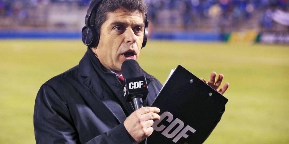 Romai Ugarte fue despedido del CDF