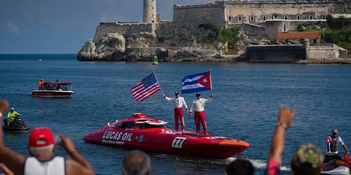 Lancha rápida busca récord entre Cuba y EEUU
