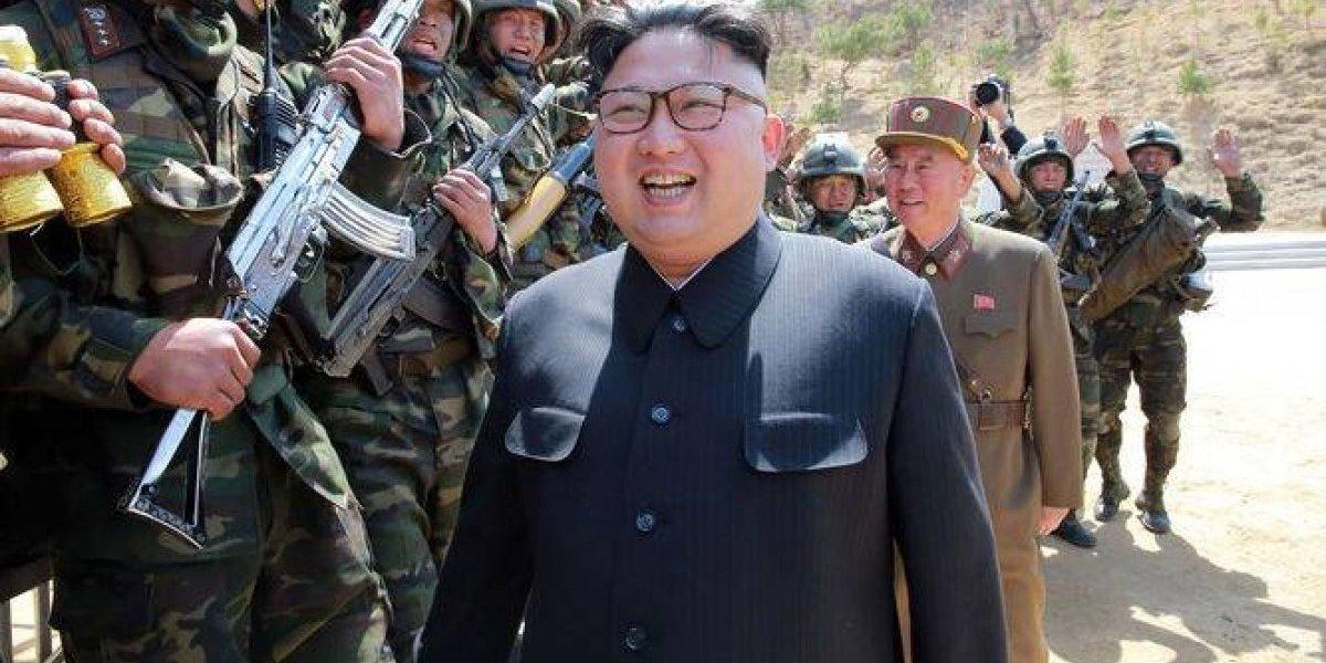 ¿Celebración? Corea del Norte lanzó el misil justo el día en que Kim Jong-un fue padre por tercera vez