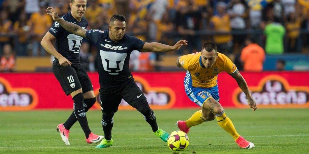 Espectacular gol de Gignac le da el triunfo a Tigres ante Pumas