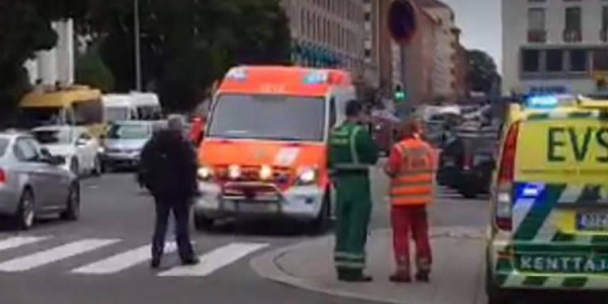 Apuñalamientos y disparos en Turku, Finlandia