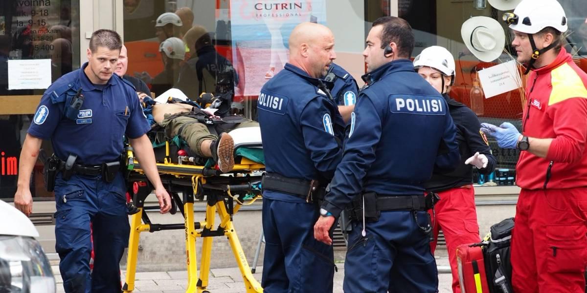 Ataque en Finlandia: dos muertos y seis personas heridas en Turku