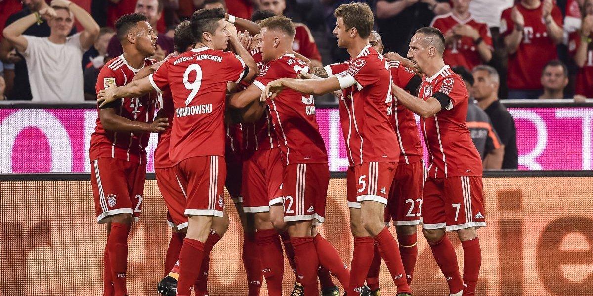 Minuto a minuto: El Bayern Munich de Vidal golea al Bayer Leverkusen de Aránguiz