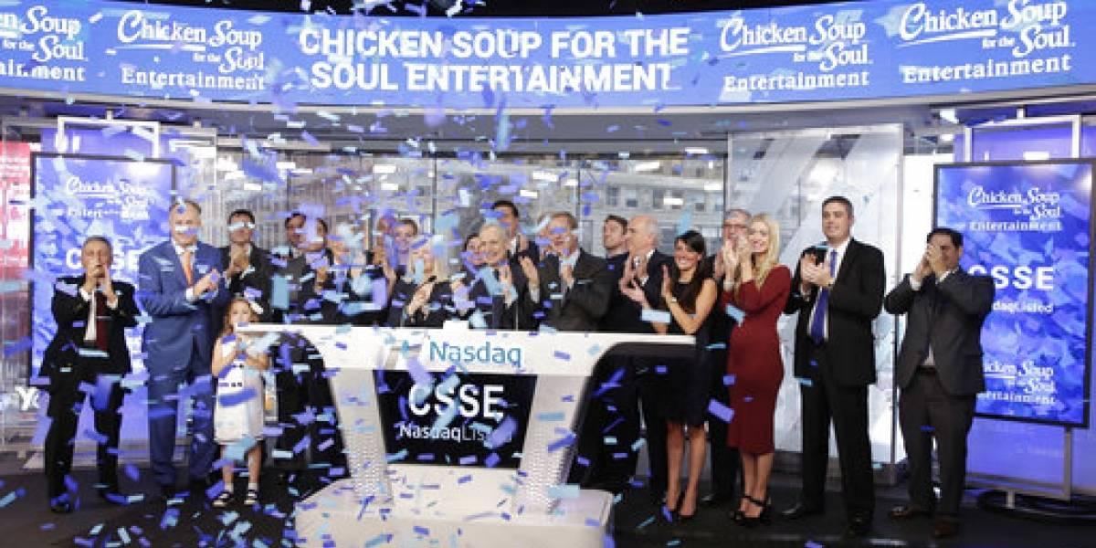 Firma de Caldo de pollo para el alma debuta en Wall Street