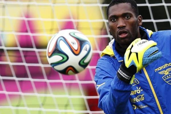 Alexander Domínguez, convocado para jugar con Ecuador