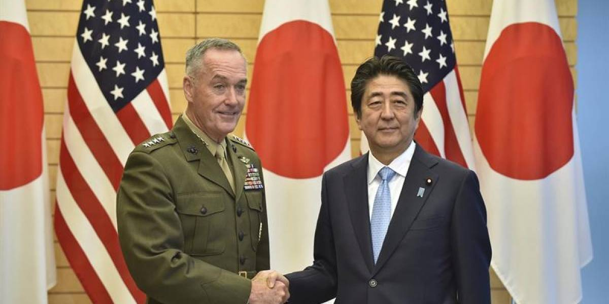 """""""Sólida como una roca"""": Estados Unidos y Japón reafirman su alianza militar ante """"amenaza"""" de Corea del Norte"""