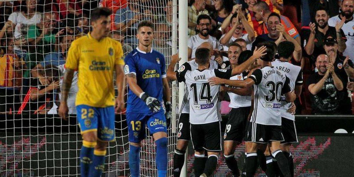 Orellana y Maripán fueron suplentes en los dispares resultados de Valencia y Alavés en la Liga