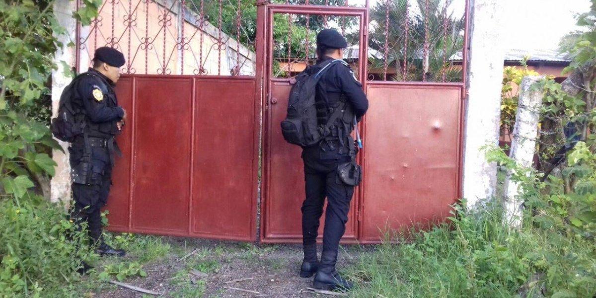 Cuatro detenidos y decomiso de armas y dinero tras operativo contra la Mara Salvatrucha
