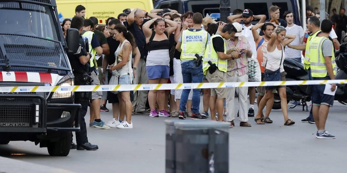 Colombiano herido en atentado en Barcelona está fuera de peligro