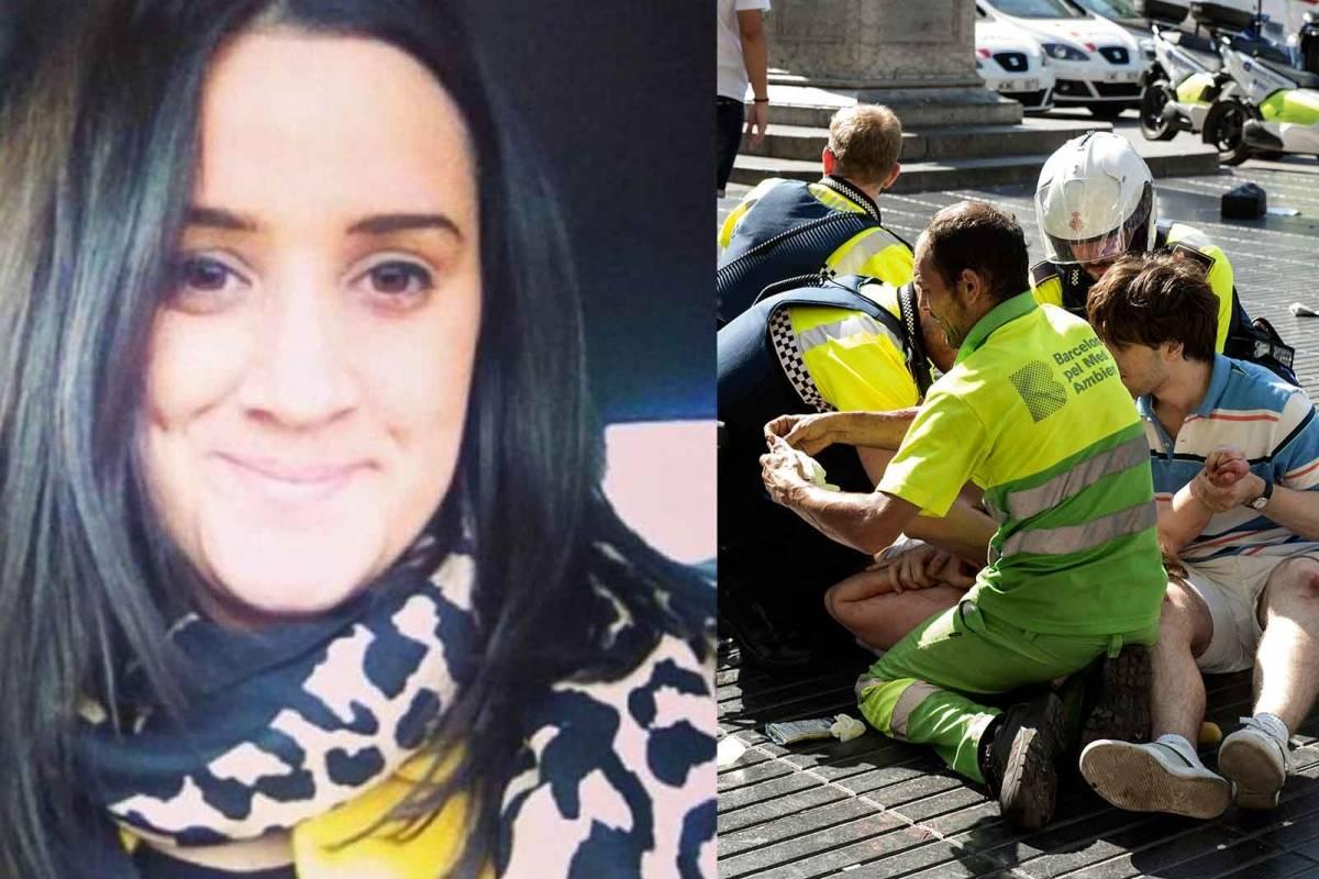 Esta joven sobrevivió a tres ataques terroristas en tres meses