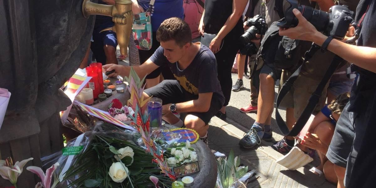 #DesdeEspaña Así vive Barcelona el día después de los atentados