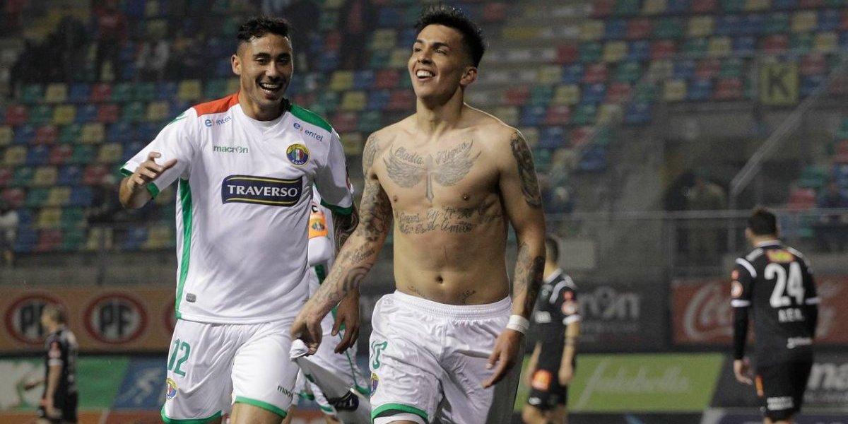 No les faltó Abrigo: Audax se recuperó en el Transición con victoria ante Temuco