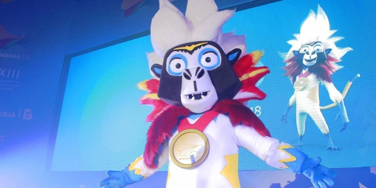 Presentan a Baqui, mascota de los Juegos Centroamericanos y del Caribe Barranquilla 2018