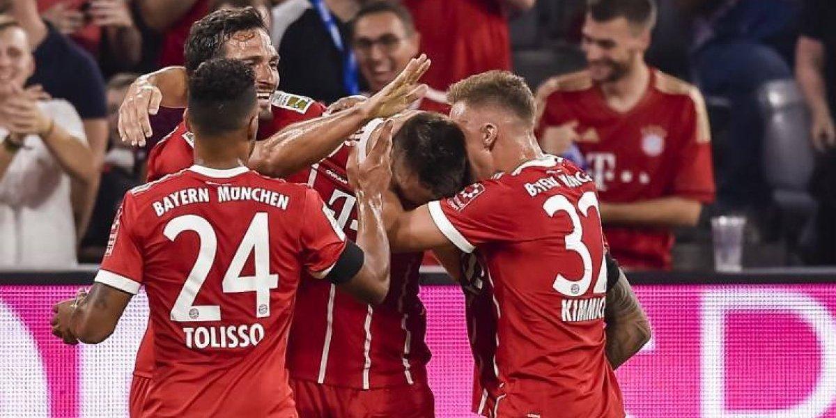 Bayern Münich inicia con victoria su camino en la Bundesliga