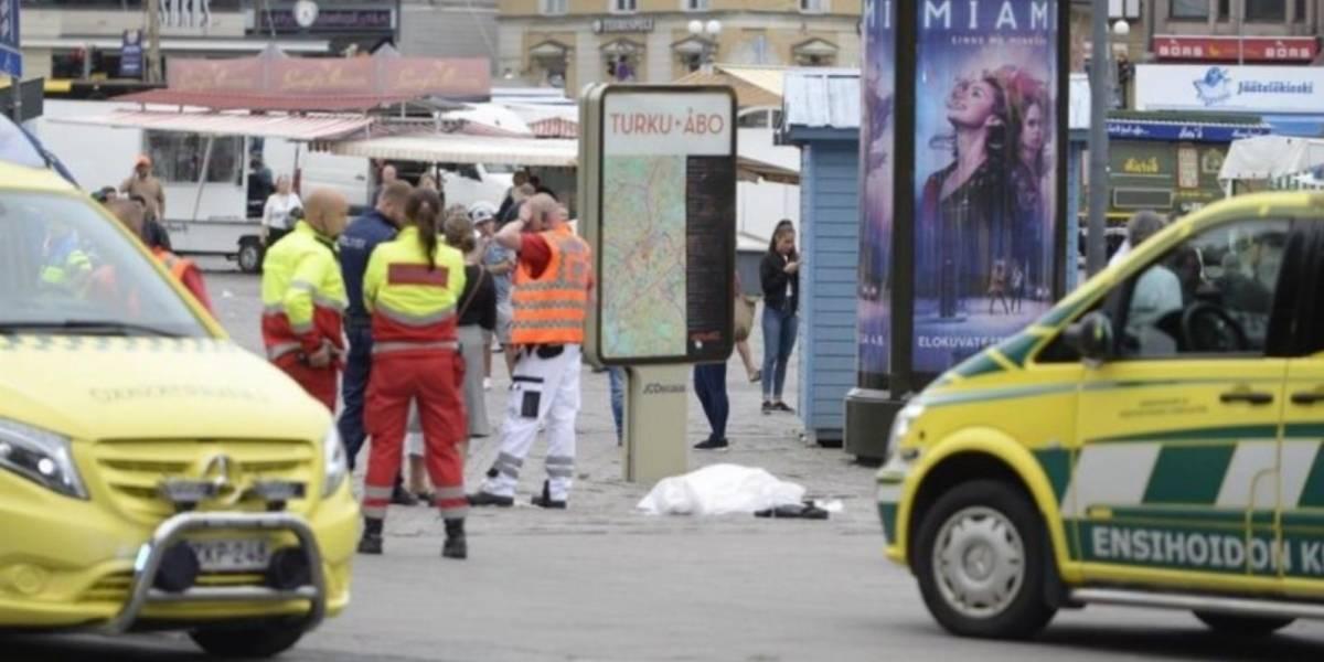Policía de Finlandia neutraliza a un hombre responsable de un atentado en Turku