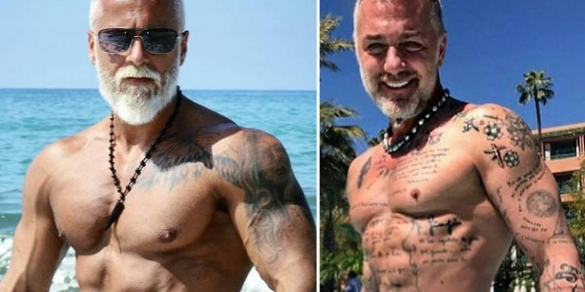 Joven se hizo cirugías para lucir mayor y quedó igual a Gianluca Vacchi