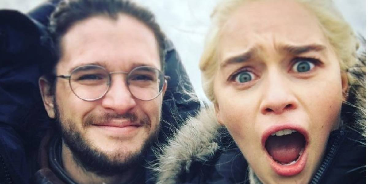 Game of Thrones: Jon Snow imita a un dragón y desata risas en redes