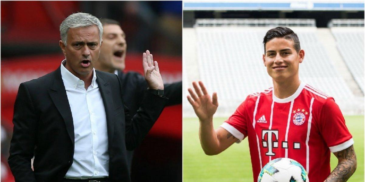El 'favor' que le haría Mourinho a James, para hacerlo feliz en el Bayern